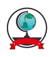 planet earth school supply vector image