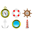 sailing icons i vector image
