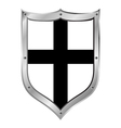 Shield medieval Teutonic Order vector image vector image