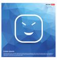 smiley icon face icon vector image vector image