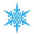 snowflake icon illlustration vector image vector image