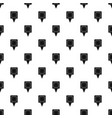 square pin pattern seamless vector image