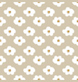 cute daisy abstract flowers seamless pattern vector image