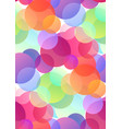 seamless festive pattern with multicolored vector image vector image