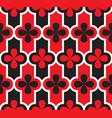 venice carnival geometric seamless pattern vector image