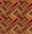 brown repeating diagonal mosaic tile pattern vector image vector image