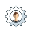 business people success icon vector image vector image