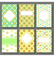 Cards Templates vector image vector image