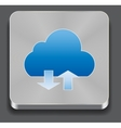 cloud apps icon vector image