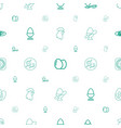 egg icons pattern seamless white background vector image vector image