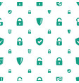 firewall icons pattern seamless white background vector image vector image