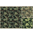 khaki pattern camouflage texture vector image vector image
