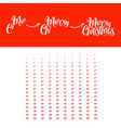 merry christmas animation vector image