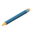 office pencil icon isometric style vector image