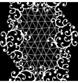 Seamless lace pattern with floral ornaments vector image vector image