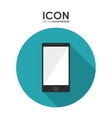 Smartphone icons design vector image