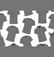 t-shirts seamless pattern vector image vector image