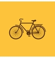 The bike icon Bicycle symbol Flat vector image vector image