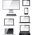 devices set vector image