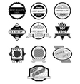 Badges set vector image