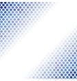 Abstract Blue Mosaic Pattern vector image vector image