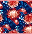 abstract chrysanthemum floral seamless pattern vector image vector image