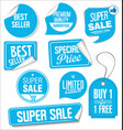 collection modern sale stickers and tags 3 vector image vector image