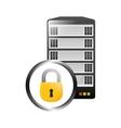 data center storage icon image vector image vector image