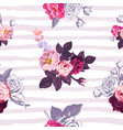 gorgeous botanical seamless pattern with small vector image vector image