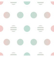 gradient dotted seamless pattern background vector image