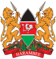 Kenya Coat-of-arms vector image