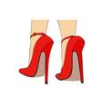 Long Heels vector image vector image