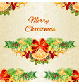 seamless texture christmas and new year christmas vector image vector image