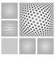stars patterns set vector image vector image