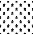 tree beehive pattern seamless vector image