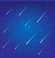star fall background vector image