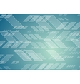 Abstract blue tech geometric background vector image vector image