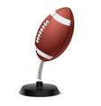 American football souvenir vector image vector image