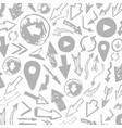 arrow background2 vector image vector image