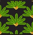 banana fan seamless pattern vector image vector image