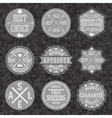 collection hipster vintage business labels vector image vector image