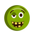 happy injured emoji vector image vector image