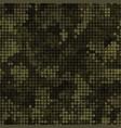 Military camouflage seamless pattern autumn