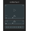 Modern line media player template