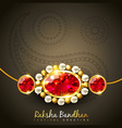 raksha bandhan festival vector image vector image