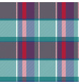 abstract check plaid asymmetric seamless pattern vector image vector image