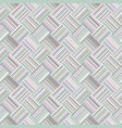 abstract diagonal stripe square tile mosaic vector image vector image
