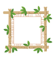 bamboo and paper vector image vector image