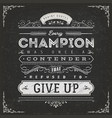 business and sport motivation quote poster vector image