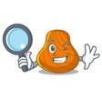detective hard shell character cartoon vector image vector image